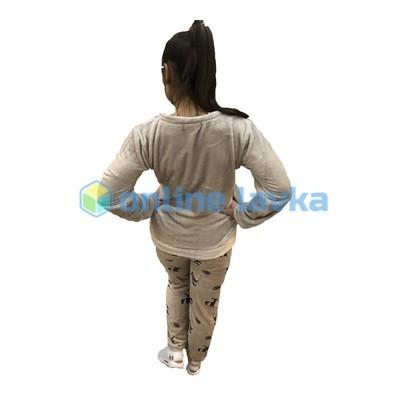 Пижама полосатая киска M