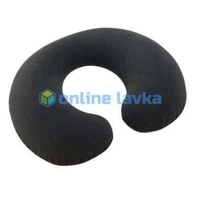 Надувная подушка для шеи 36*30*10 см синяя intex