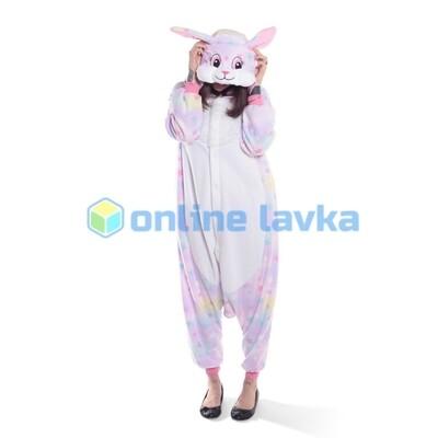 Пижама кигуруми заяц звездный (размер s)