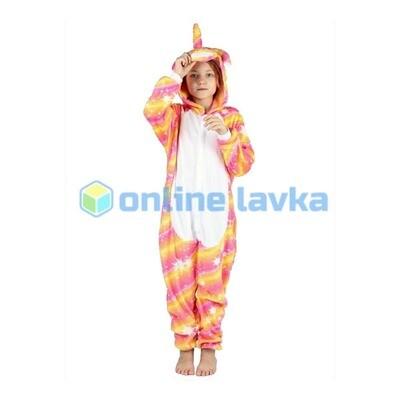 Пижама кигуруми Единорог звездный яркий (размер s)
