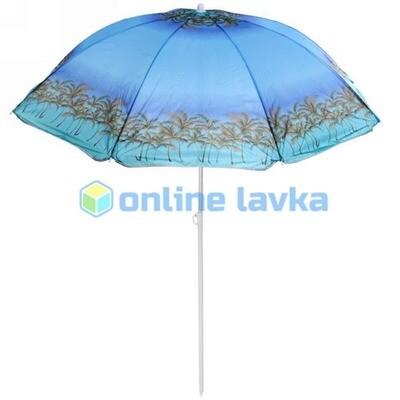 Зонт пляжный d160см h170см Сказочный остров