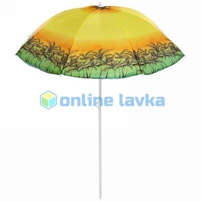 Зонт пляжный d160см h170см Райское наслаждение