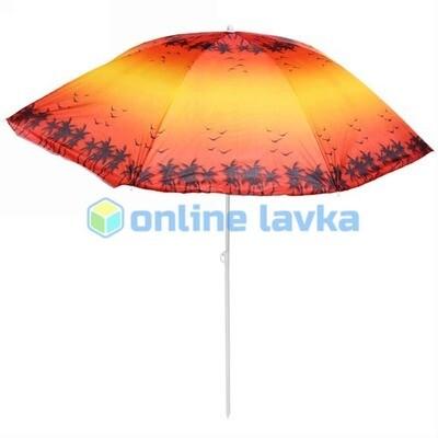Зонт пляжный d160см h170см Морской закат
