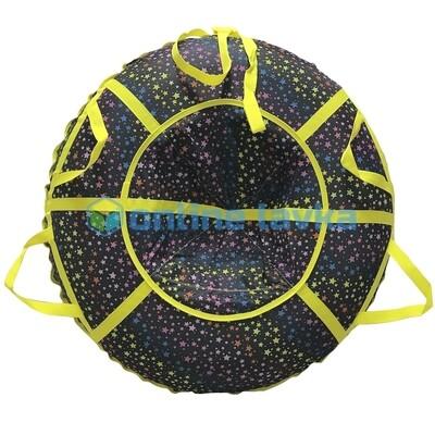 тюбинг для детей и взрослых Звезды (надутый - 100 см)