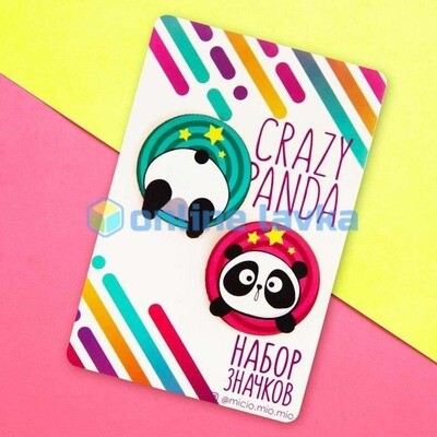 Значок Crazy Panda