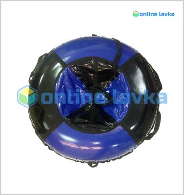 тюбинг для взрослых черно синий (надутый - 97 см)