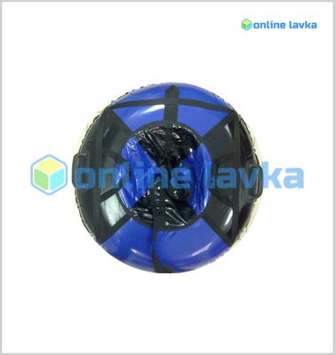 Тюбинг для детей премиум 90 см черно синий