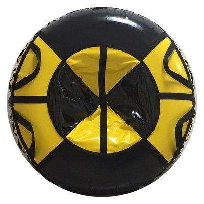 тюбинг для взрослых черно желтый (надутый - 97 см)