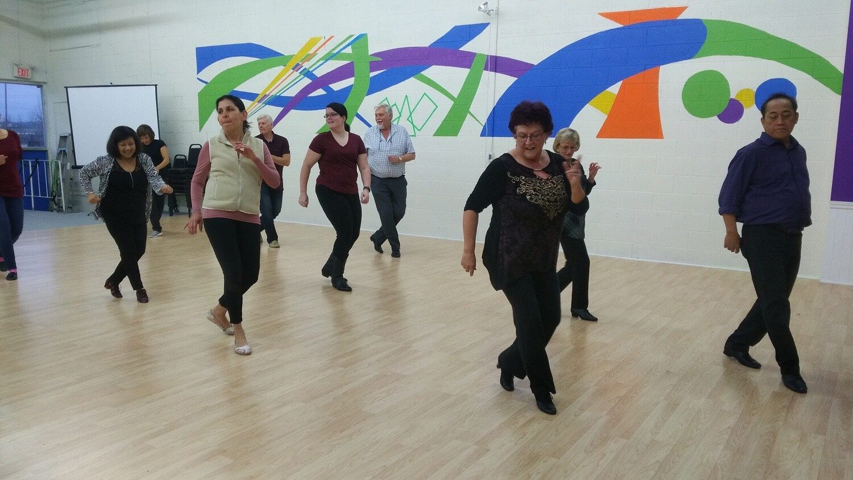Line Dancing INTRO program
