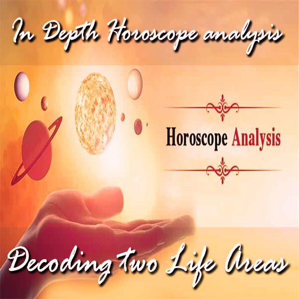 In Depth Horoscope Analysis | 3 Queries  Analysis Report | Written/Voice Report