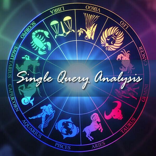 Single Query or Prashna Chart Analysis Report   PDF for Prashna Chart   Voice Session for Single Query Analysis