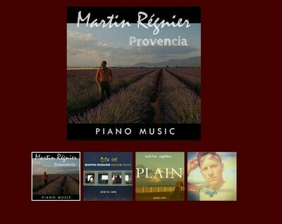 PACK 4 CDS - THE PIANIST OF PROVENCE