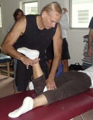 Chiroyoga Therapy Session