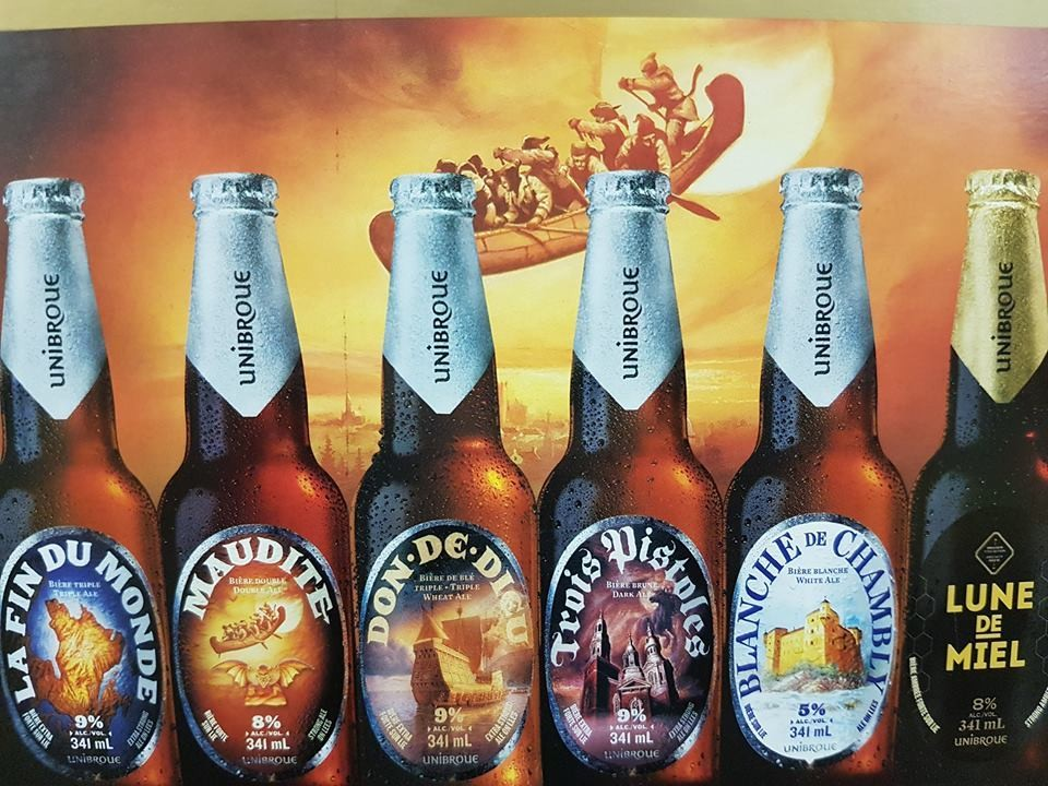 Unibroue Mixte 18.99$