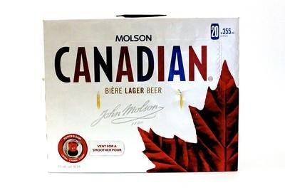 Molson Canadian 27,99$