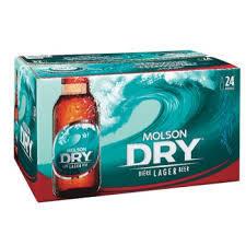 Molson Dry 33,99$