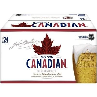 Molson Canadian 34,99$