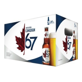 Molson Canadian 67 35,99$