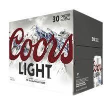 Coors Light 37,99$