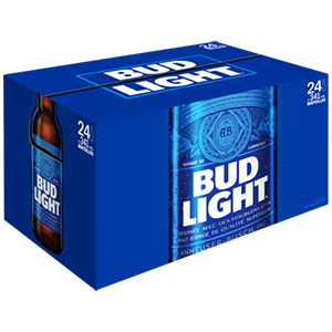 24 x Bud light 35,99$
