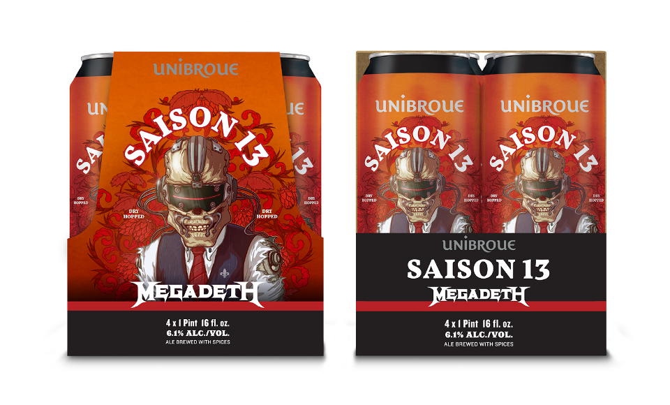 Unibroue Saison 13 Megadeth 14.99$