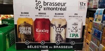 Brasseurs De Montréal 20.99$