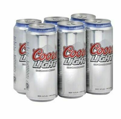 Coors Light 473ML 13.99$