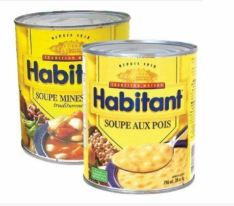 Soupe Habitant au choix 796ML