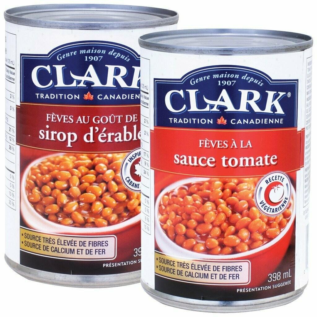Fèves aux Lards Clark 398ML 3,79$
