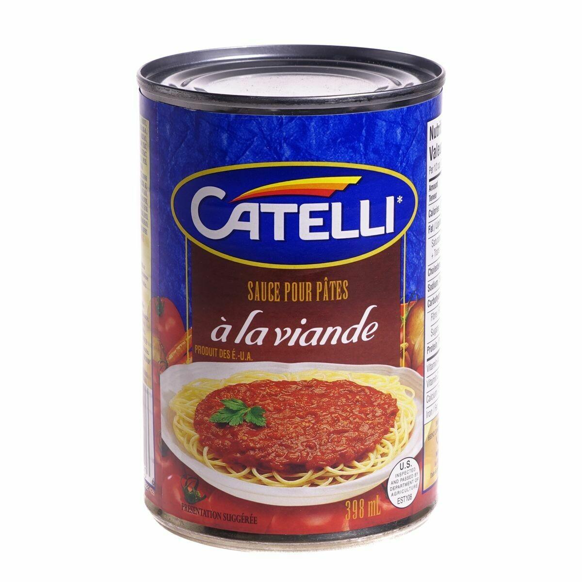 Sauce Spaghetti Catelli 398ML 4,09$