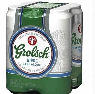 Grolsch sans alcool 10,99$