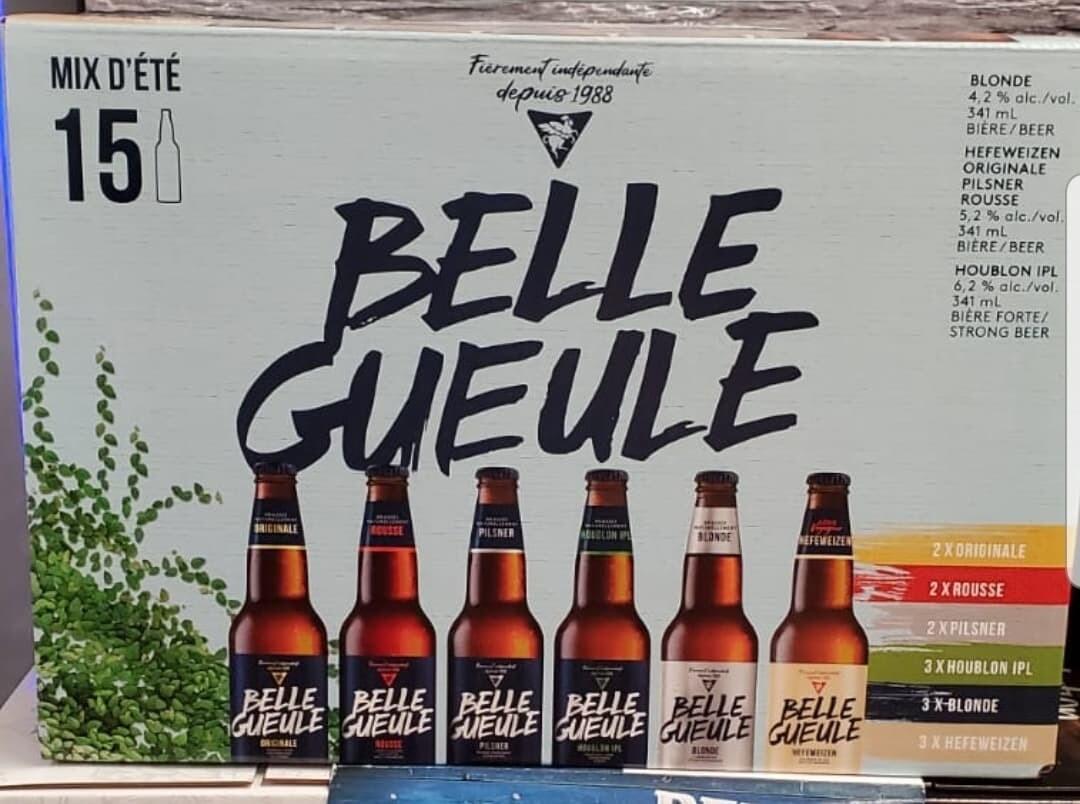 Belle Gueule Mixte d'été 15-Bout 19,49$