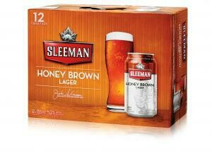 Sleeman Honey Brown 16,99$