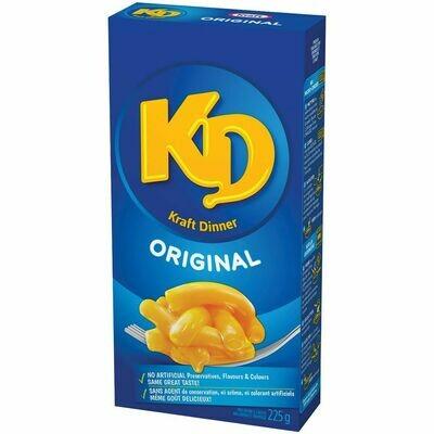 Kraft Dinner 3,49$