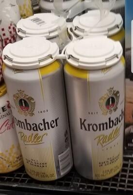 Krombacher Radler 9.99$