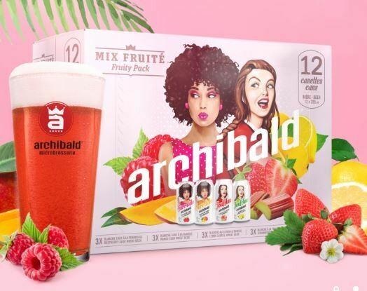 Archibald Mix Fruité 24,99$