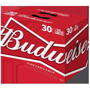 30 x Budweiser 40,99$
