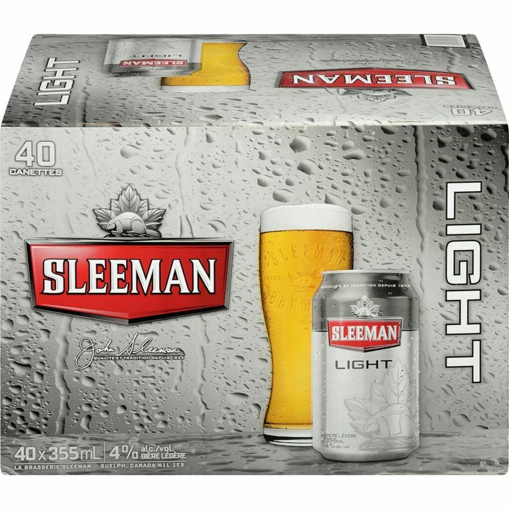40 x Sleeman Light 45,25$
