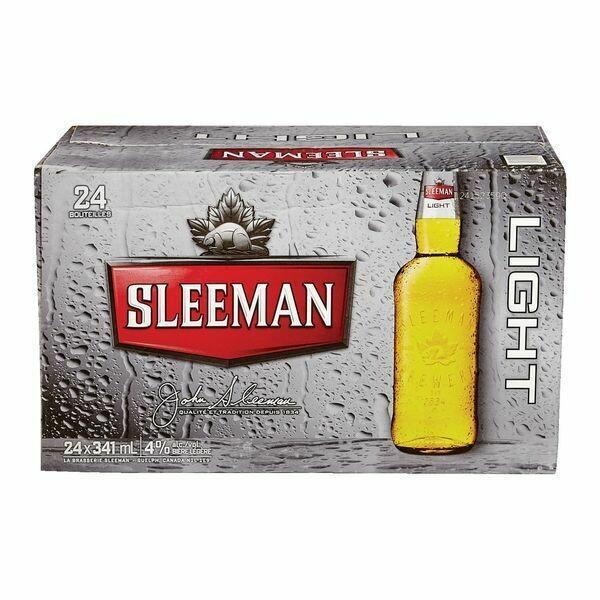 24 x Sleeman light 26,97$
