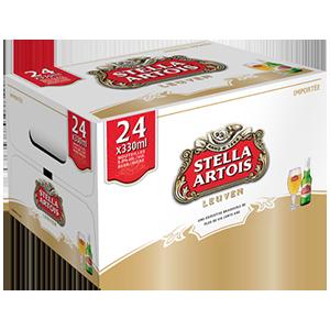 24 x Stella Artois 37,99$