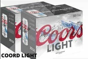 60 x Coors Light 68.99$