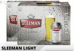 60 x Sleeman Light 68.99$