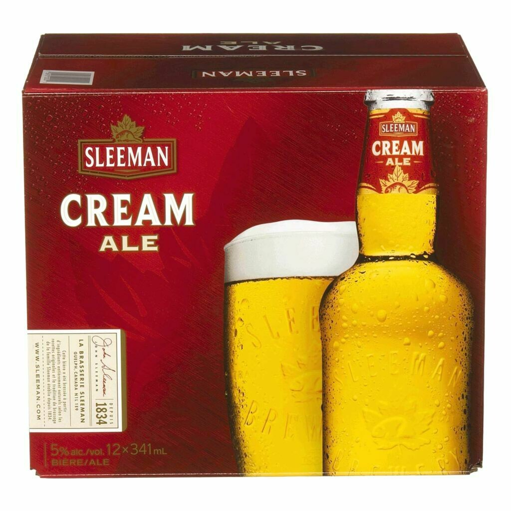 Sleeman Cream Ale 16,99$