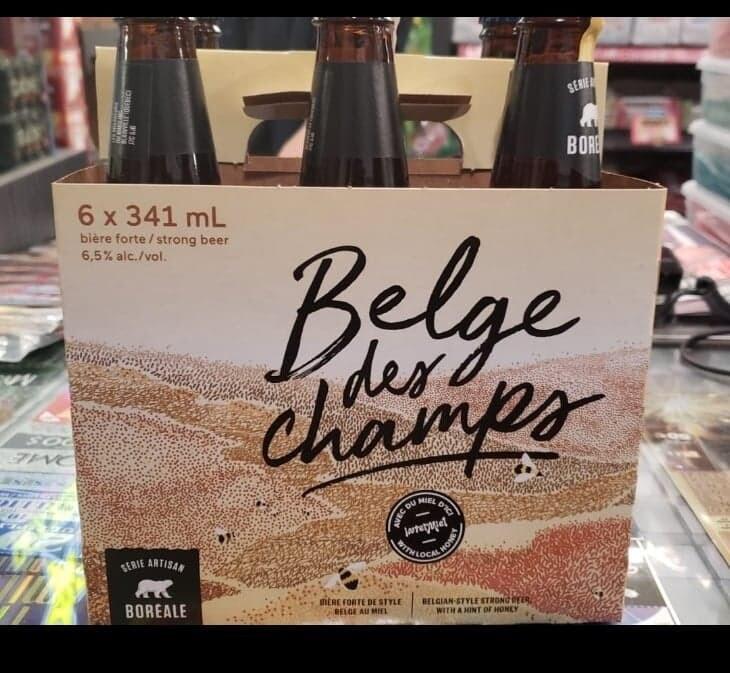 Belge des Champs 6-pack 12.99$