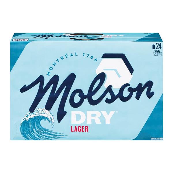 Molson Dry 34,99$