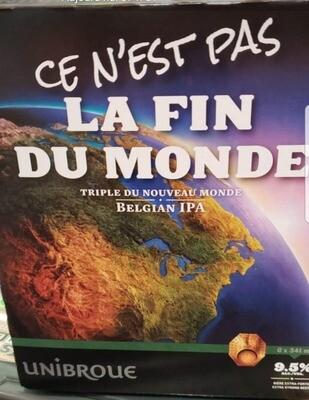 Ce n'est pas La Fin du Monde 12,99$
