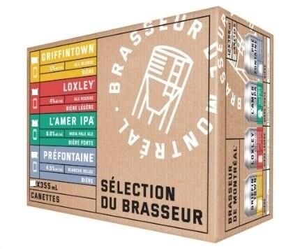 Brasseur de Montreal 18-Cans Mixte
