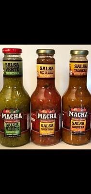 Salsa Macha au choix