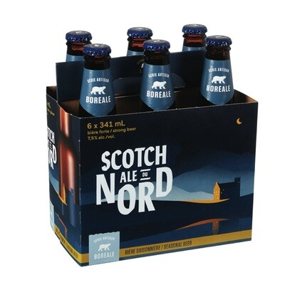 Scotch Ale du Nord 6-pack 12,99$