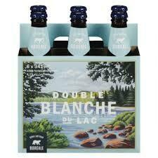 Double Blanche du lac 6-pack 12,99$